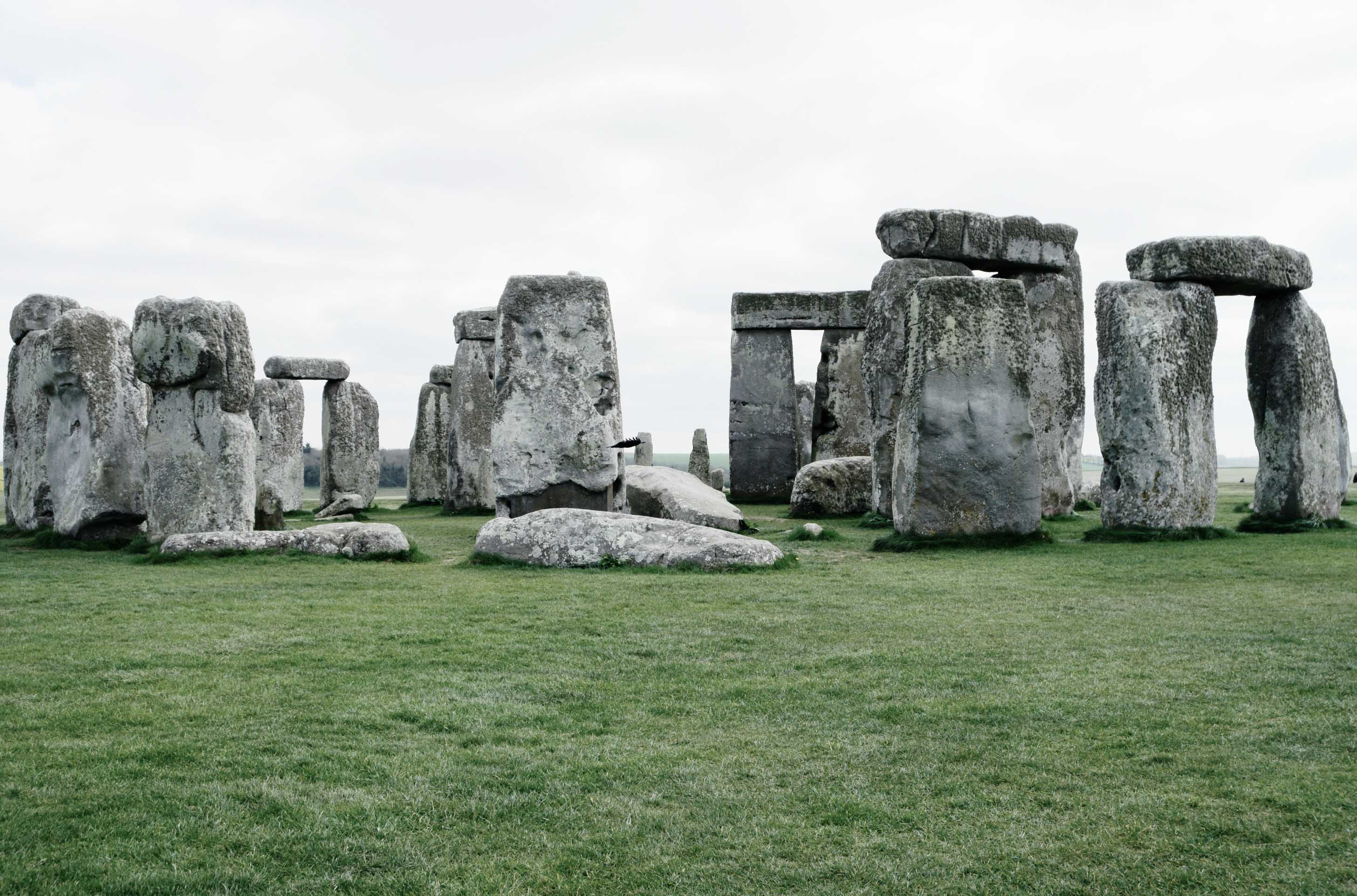 Stonehenge on a moody english day perfect staycation