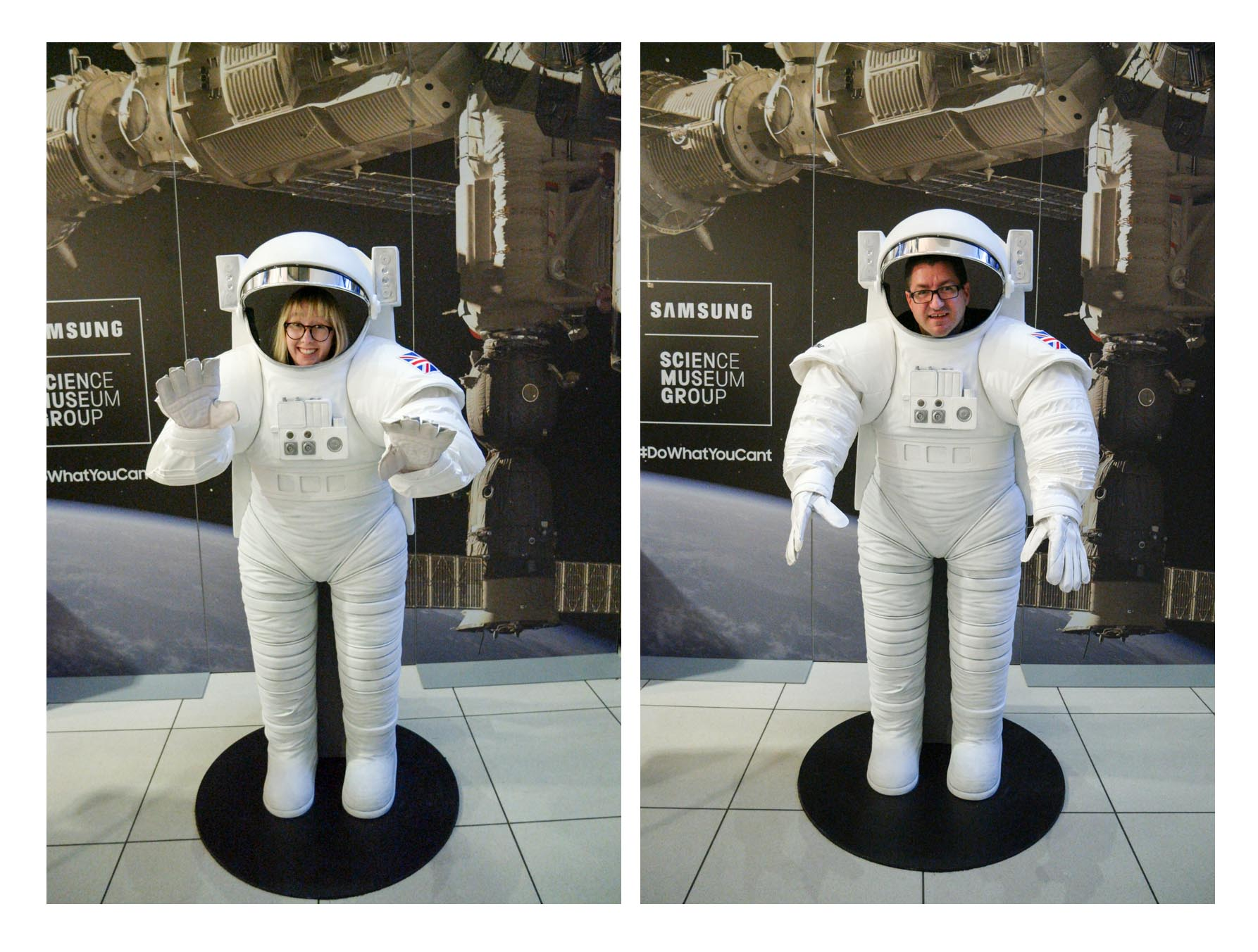 Space suits at the science and media museum bradford