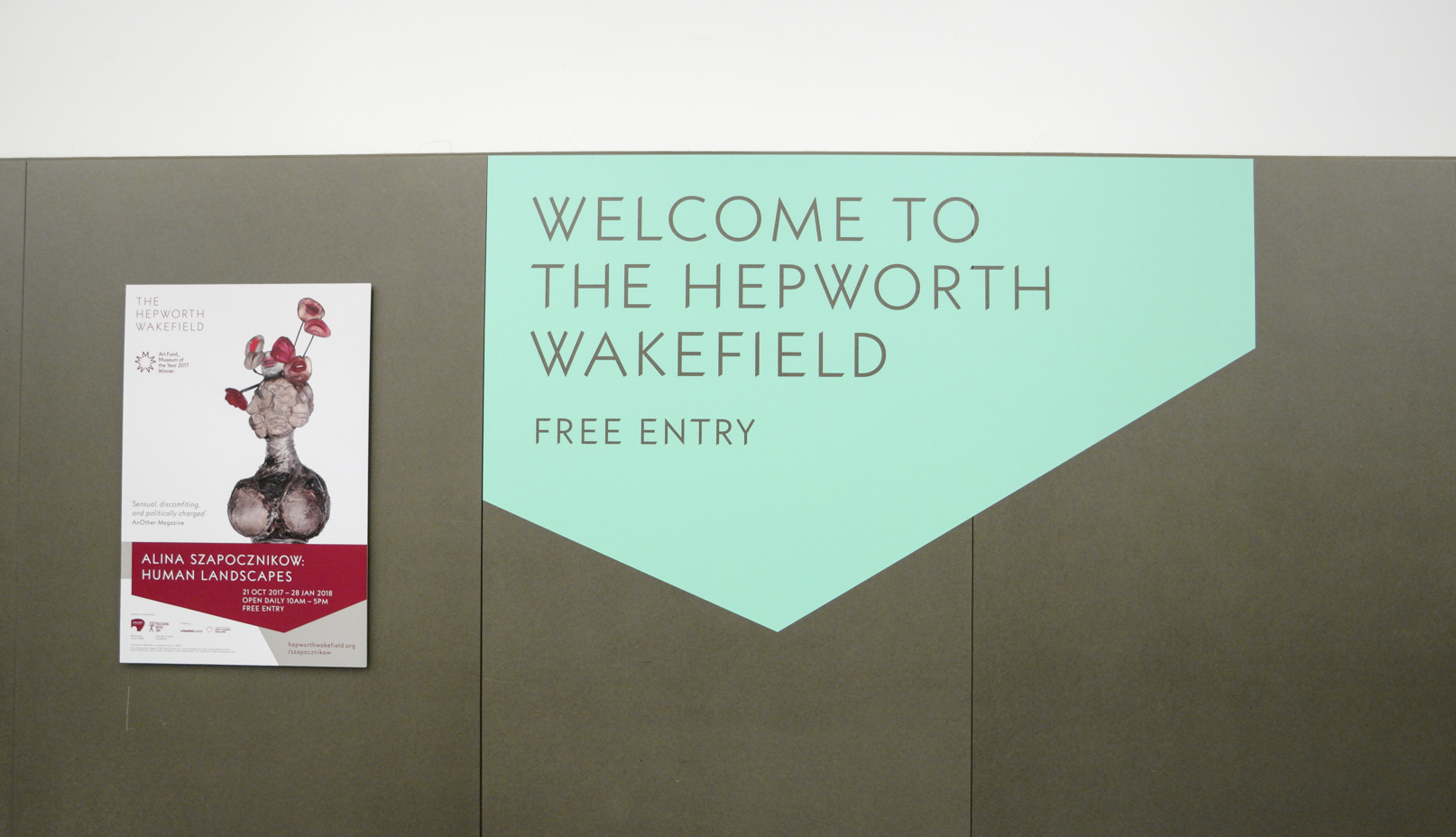 Welcome to the hepworth wakefield