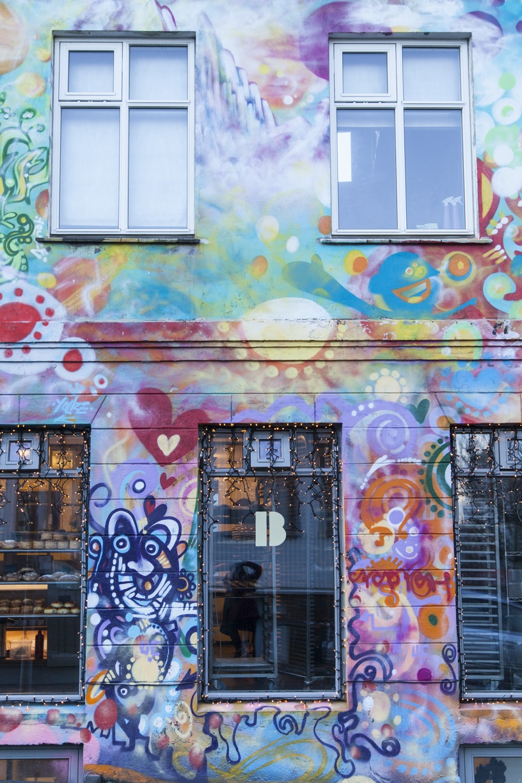 Brode bakery street art Reykjavik