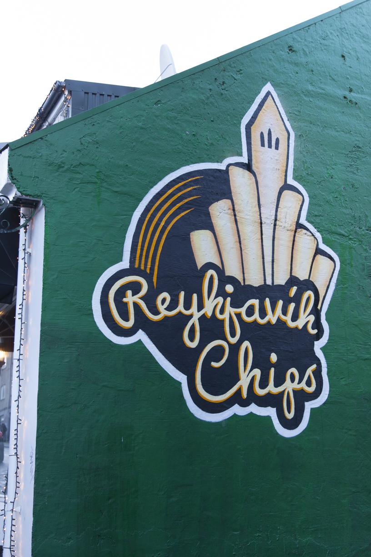 Reykjavik street art - Reykjavik Chips