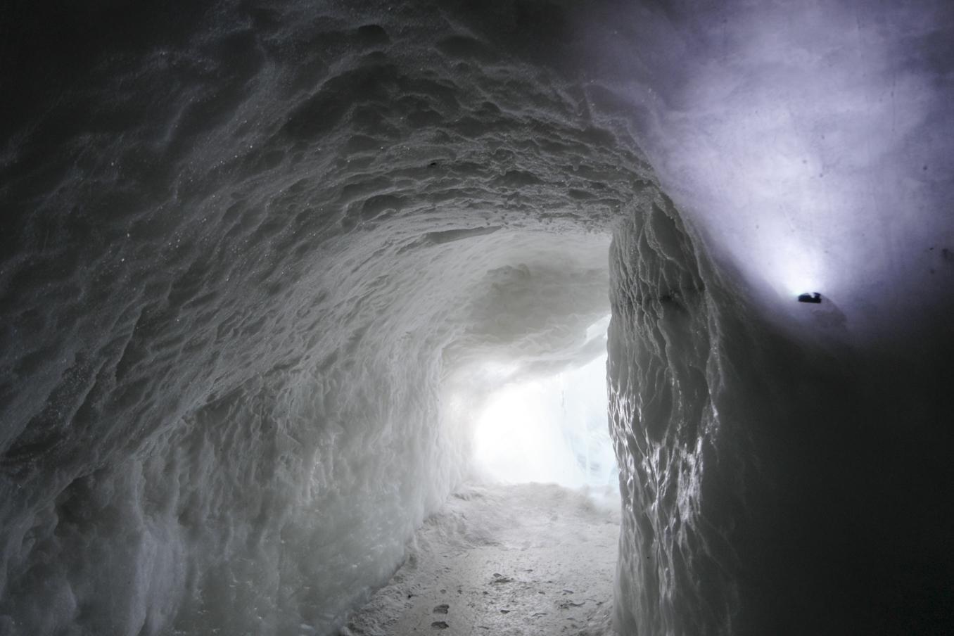 Perlan Museum ice cave