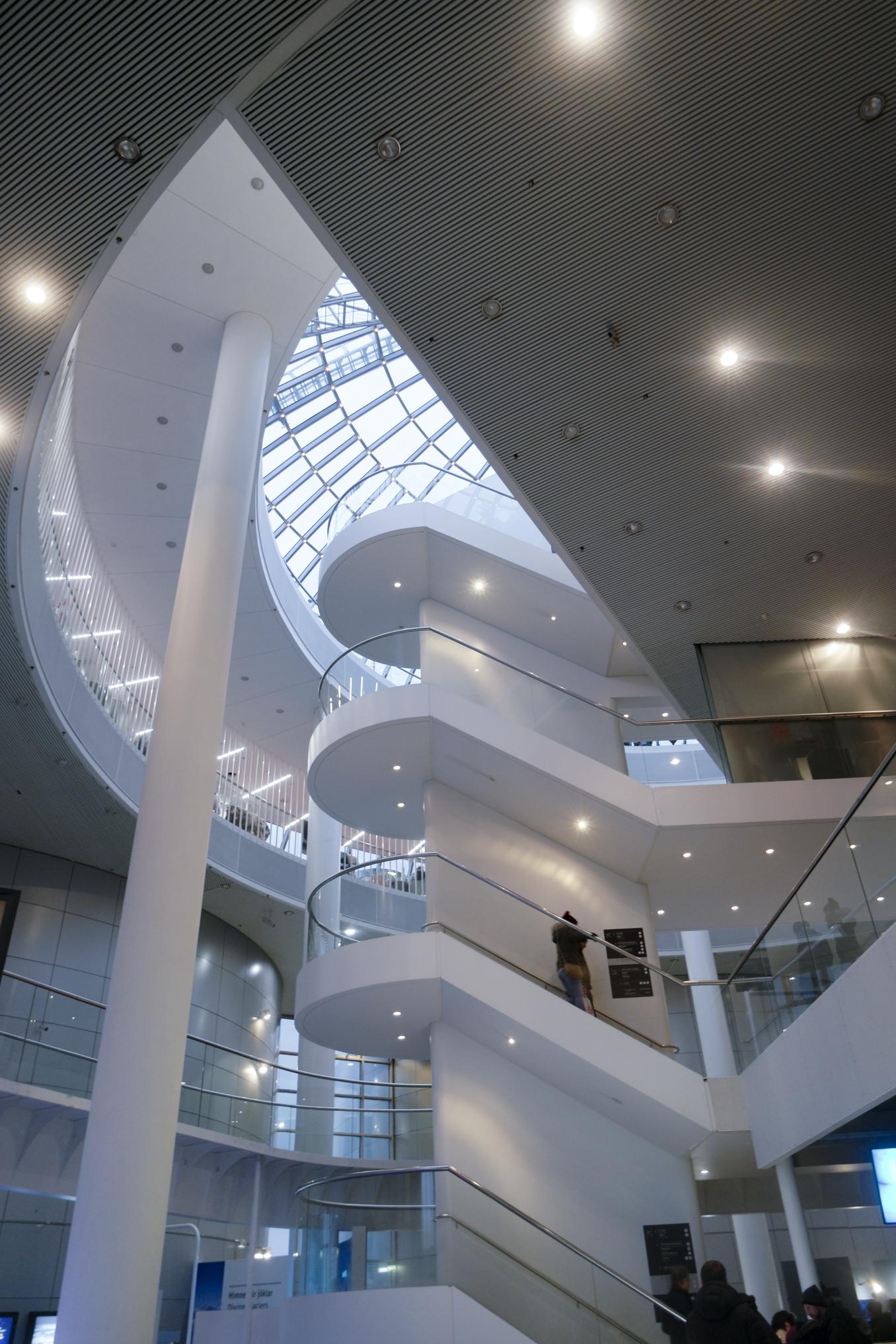 Perlan Museum Interior