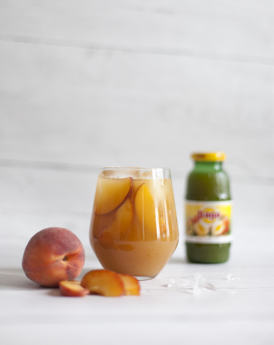 Pego Peach Alcoholic Iced Tea