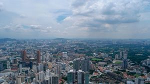 Kuala Lumpur from the KL Tower