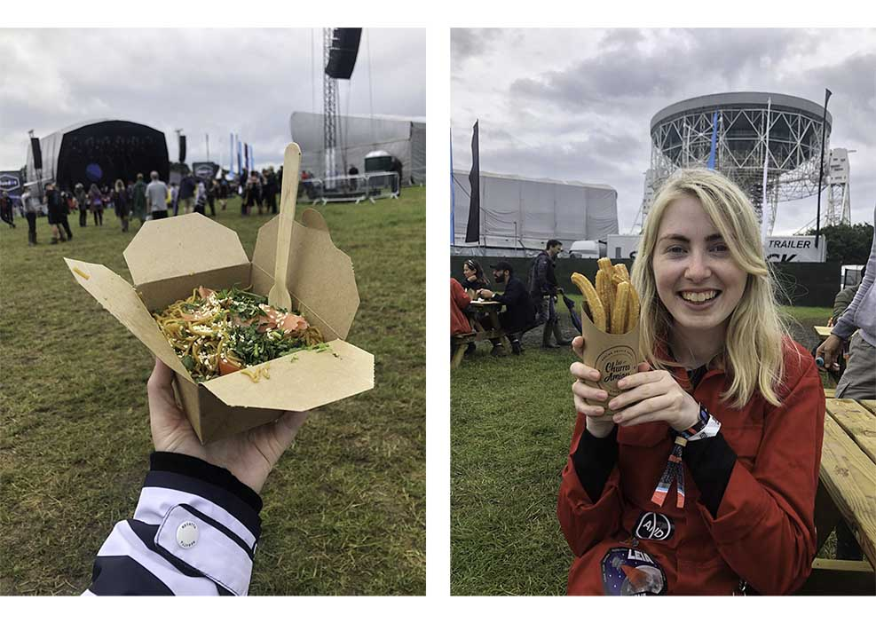 festival food at Bluedot