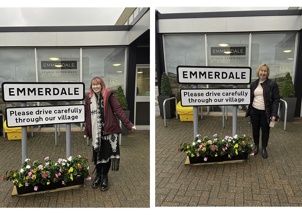 Emmerdale sign outside Emmerdale studio experience
